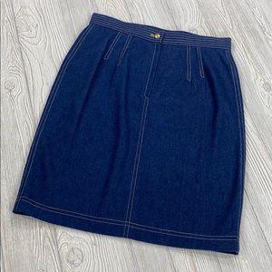 NWT Escada Denim Skirt - sz 44